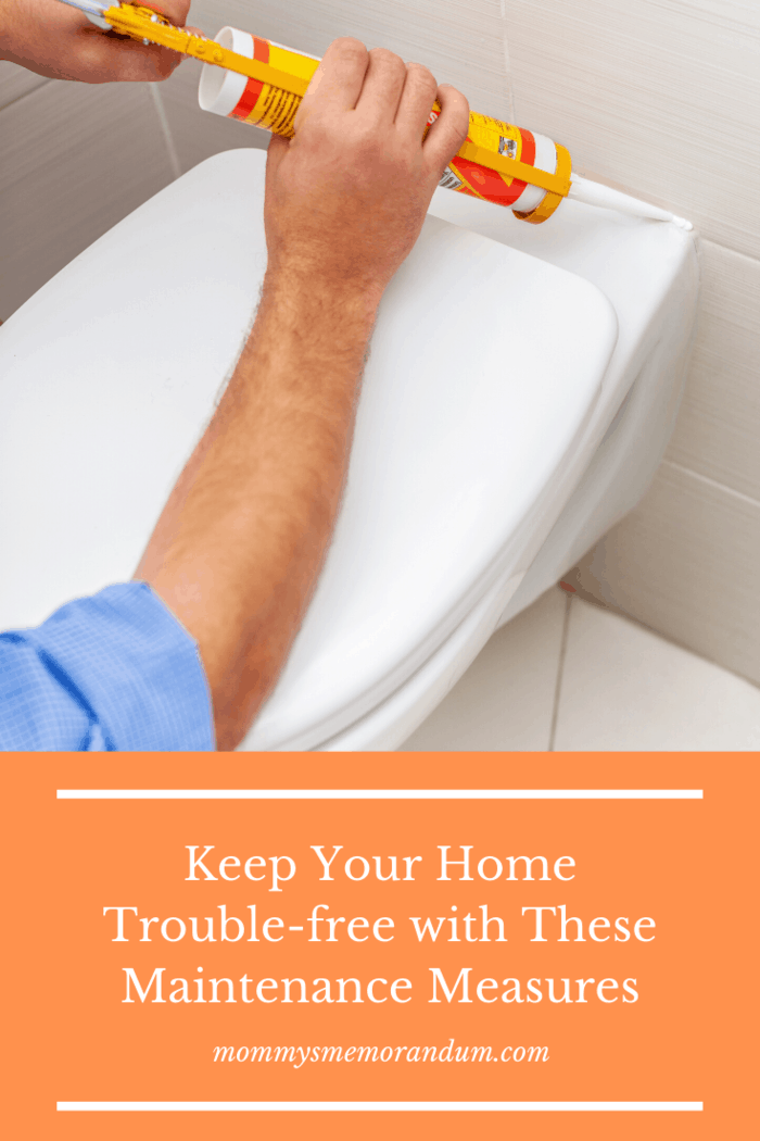Make sure that your faucets are not dripping and that your toilets are flushing as they should.