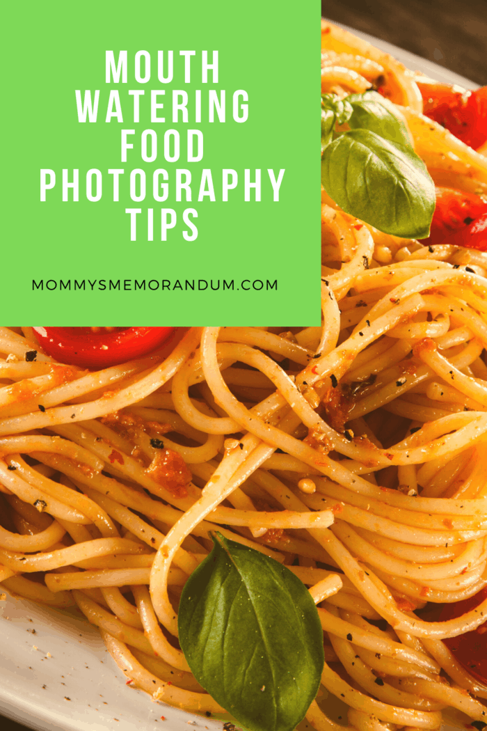 Read on as we look at some food photography tips for taking the perfect pics of your pasta.