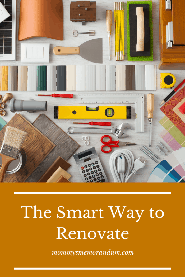 smart way to renovate Upon deciding what changes you will make, you and the designer can devise a budget within your financial means.