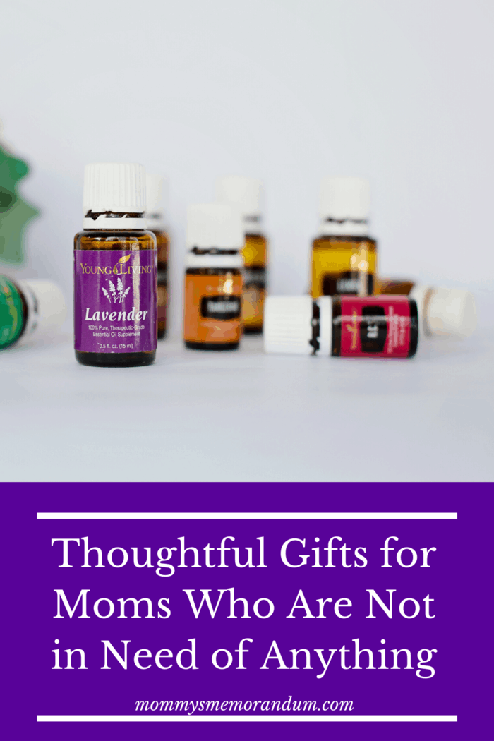 An aromatherapy gift set will help your mom to relax and drift into a wonderful night's sleep every night.