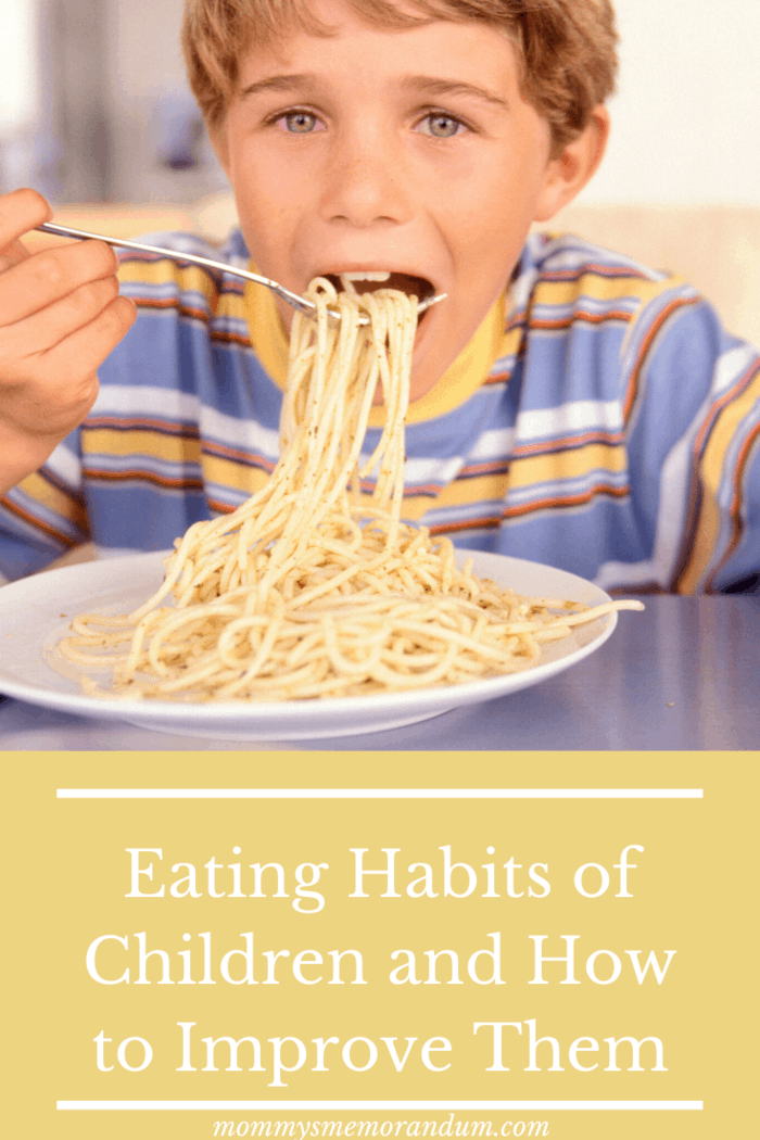 Eating Habits of Children and How to Improve Them