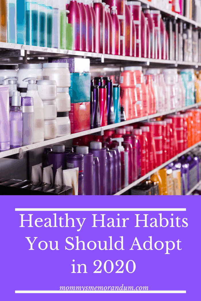 Before you start using any hair product, be mindful of the ingredients in it as part of healthy hair habits for 2020