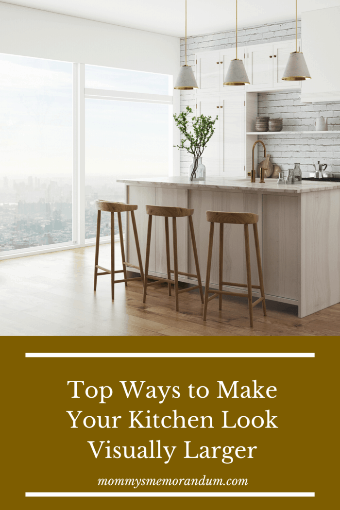 However, luckily for you, there are some things that you may do yourself to visually increase the size of your kitchen – even if, technically speaking, the measurements remain the same.