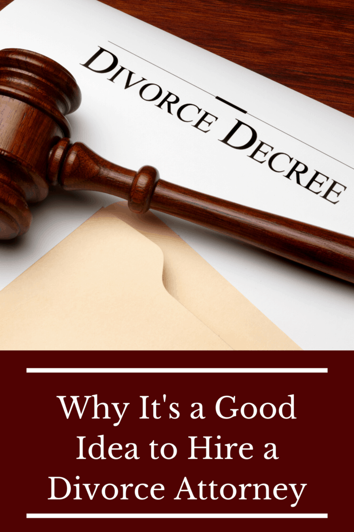 There are many benefits a divorce attorney can offer you during this difficult time. Here is why it's a good idea to hire a divorce attorney.