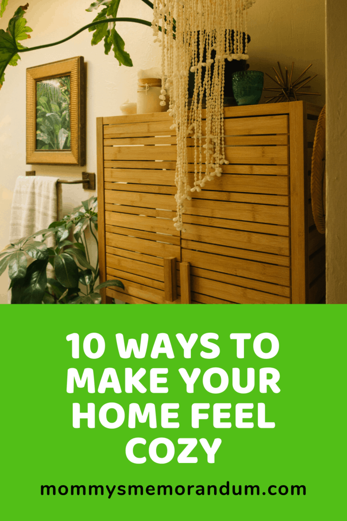 You can add wood throughout your home.