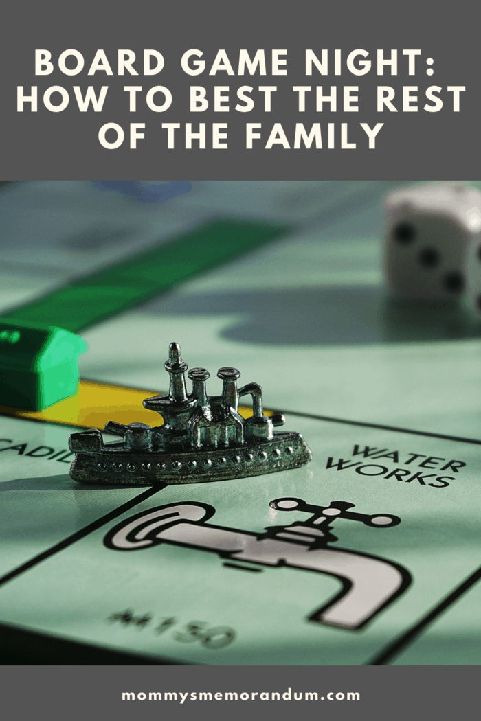 Playing the same games with the same people can stall your learning because their styles may be monotonous shake things up with board game night.