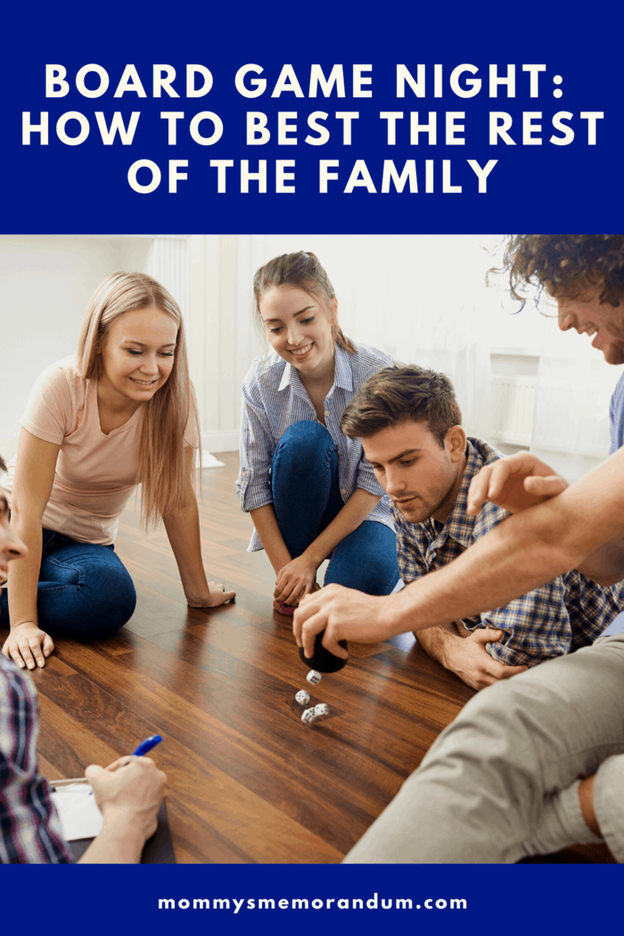 If you want to be the boss at board game night in your family, you need to start paying attention especially when you are making your move as well as the moves made by your opponent.