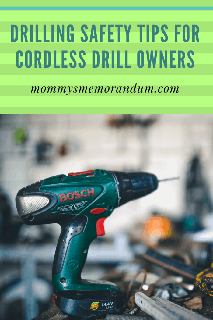 Home improvement and other renovation or building projects require the use of power tools such as cordless drills.