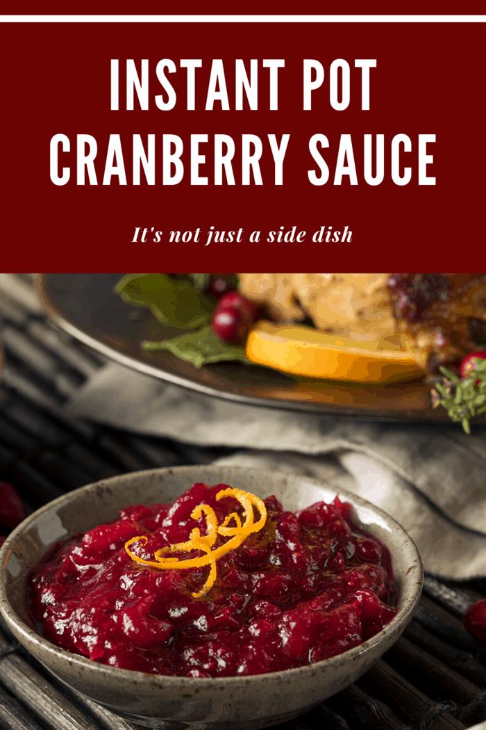 delicious instant pot cranberry sauce