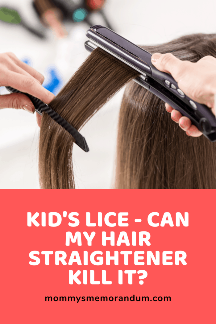 Can My Hair Straightener be used to Kill My Kid's Lice?