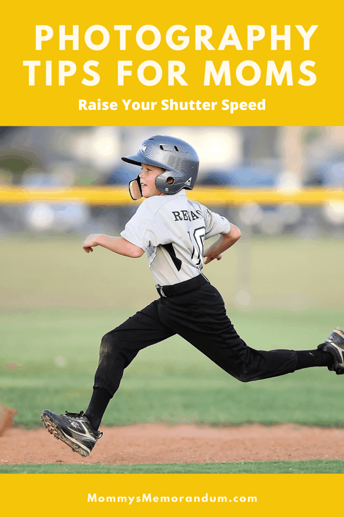 If your kids are running or moving too fast, increase the shutter speed to 1/500 or faster.