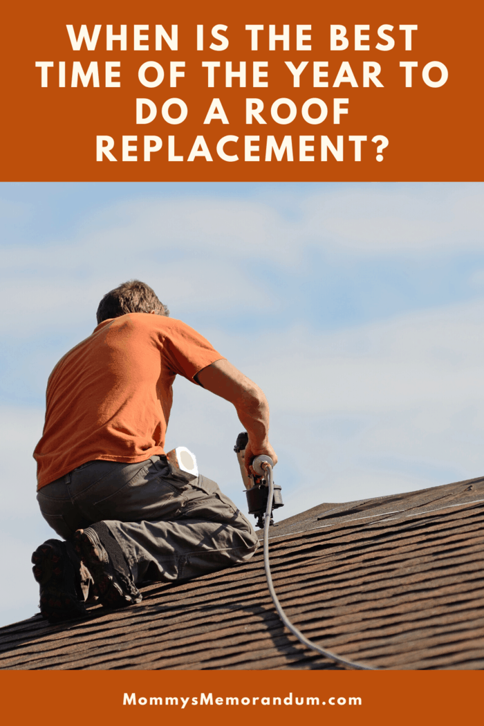 You need a new roof and you're looking at the cost. Here is the best time of year to do a roof replacement for quality and cost.