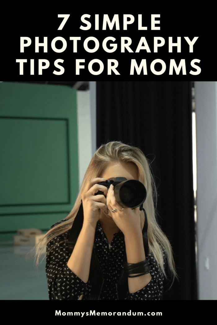 These 7 Simple Photography Tips for Moms will help ensure sure you'll have tons of beautiful pictures to look back in the years to come.