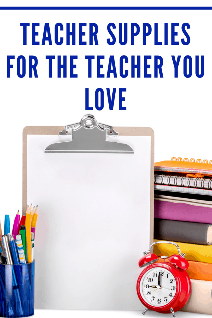 Students aren't the only ones that need supplies for school, teachers do as well it's a great gift idea for teachers