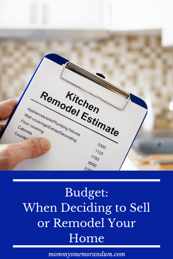 What's important is to ensure that the envisaged end product of your remodeling can be covered by the budget you can afford.
