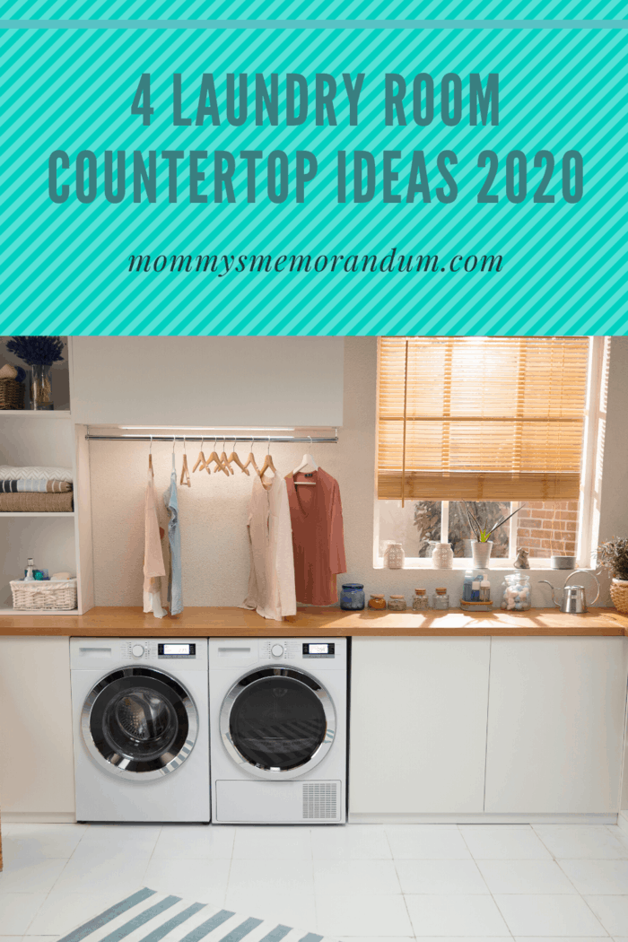 learn about laundry room countertop options as well as the best laundry room countertop materials for different designs and uses.