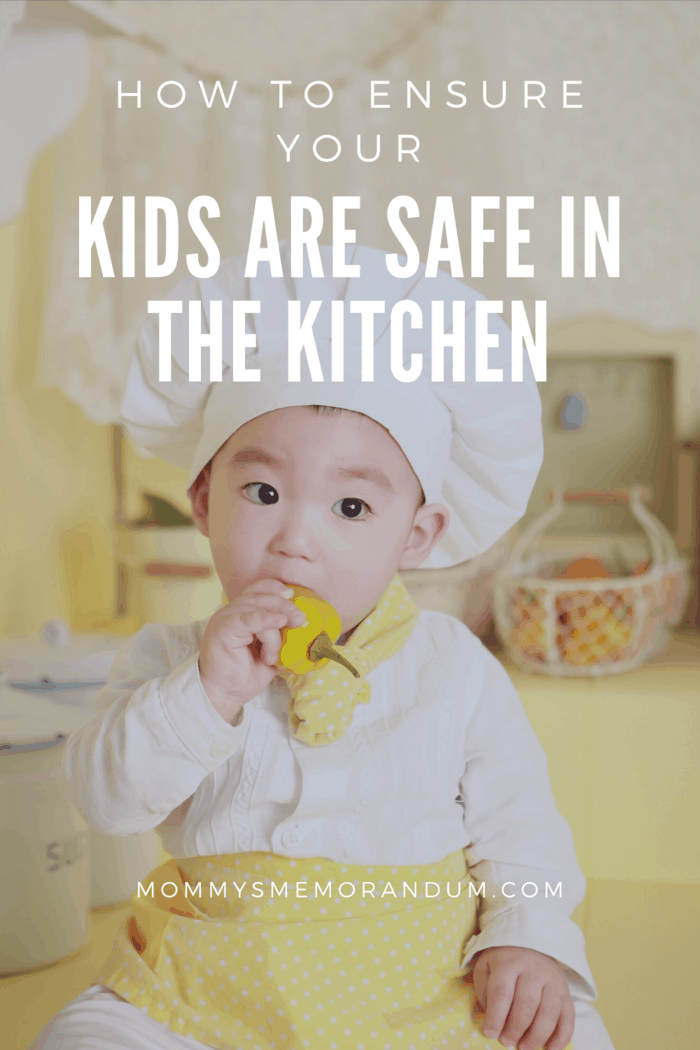 Kids might start playing with the fire and eventually get burned or even cause a bigger accident in the kitchen.