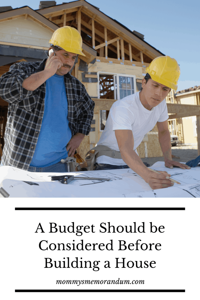 Any successful plan needs to have a well thought out budget.