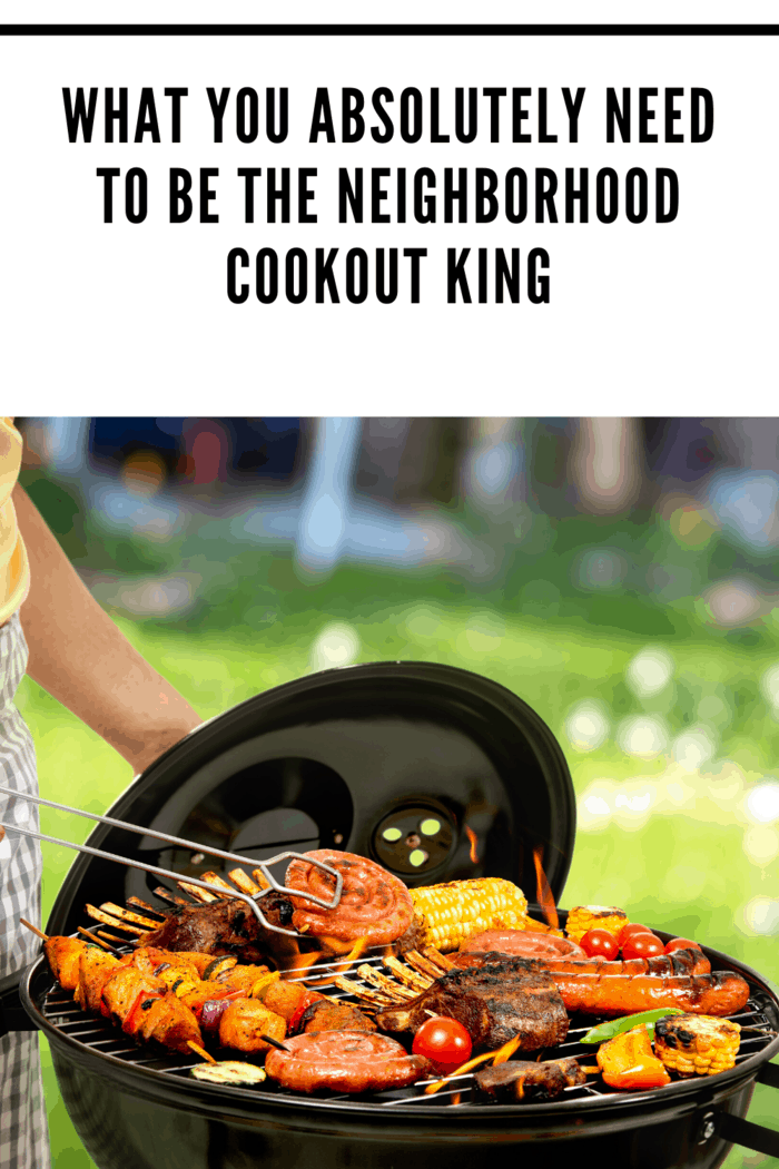 Although meat and chicken always dominate any cookout menu, keep in mind that you should offer your guests a balanced meal.