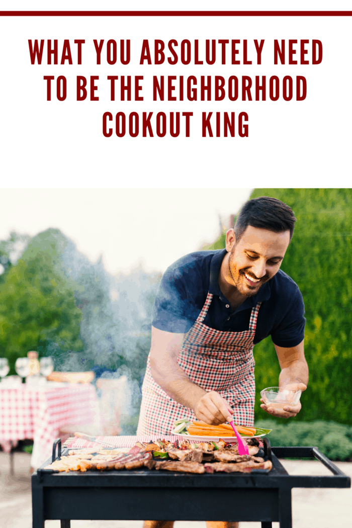 Furthermore, make a shopping list to avoid running back to the supermarket just two hours before your cookout starts!