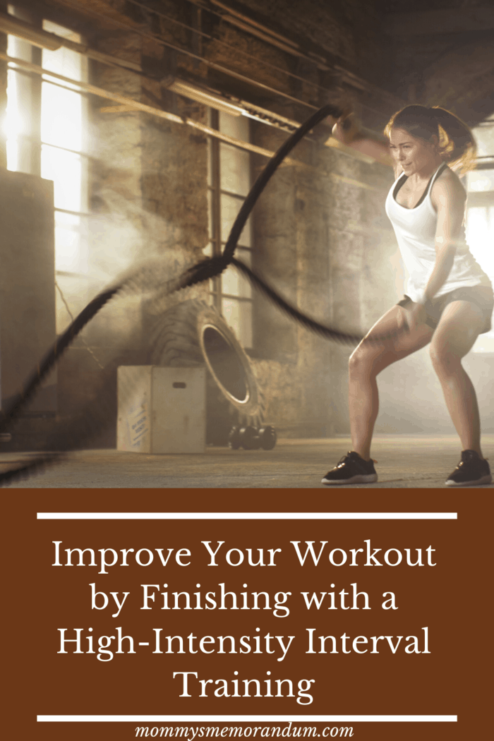High-Intensity Interval Training is the best way to burn fat in a short time.