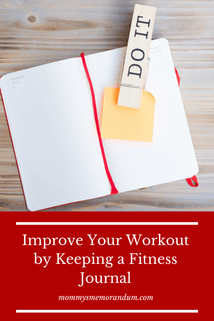 Having a fitness journal that keeps accountability in your results can help you stay focused on your goal.