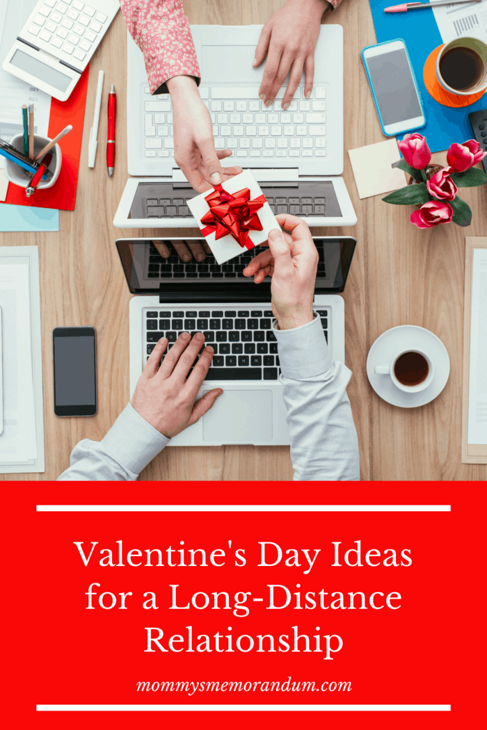 Check out these amazing Valentine's Day ideas for a long-distance relationship. It's all the love even far away! #valentinesday #relationships #longdistancerelationships