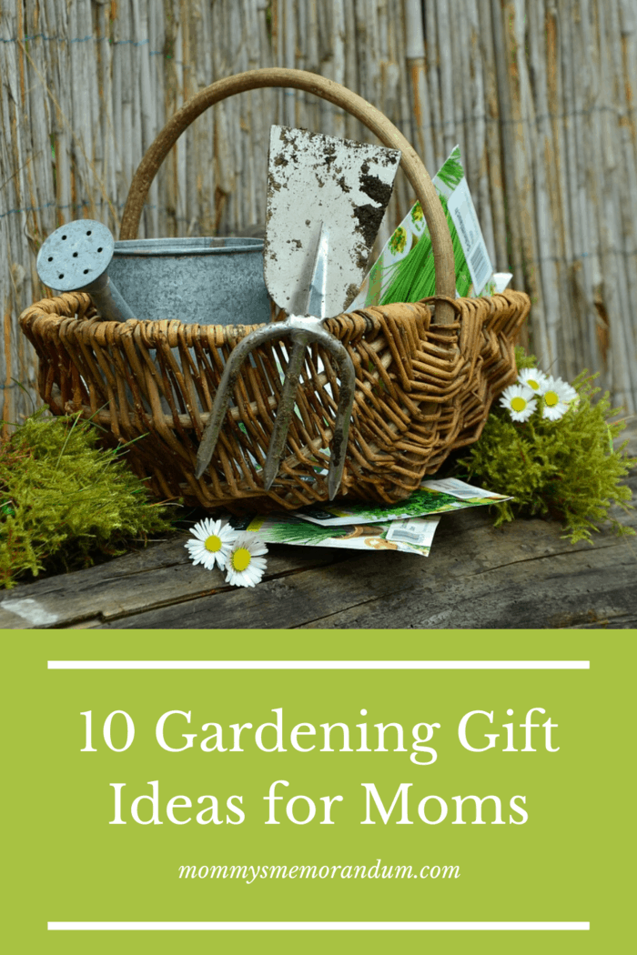 Spring is around the corner so let's look at 10 amazing gardening gift ideas we can surprise mom with.