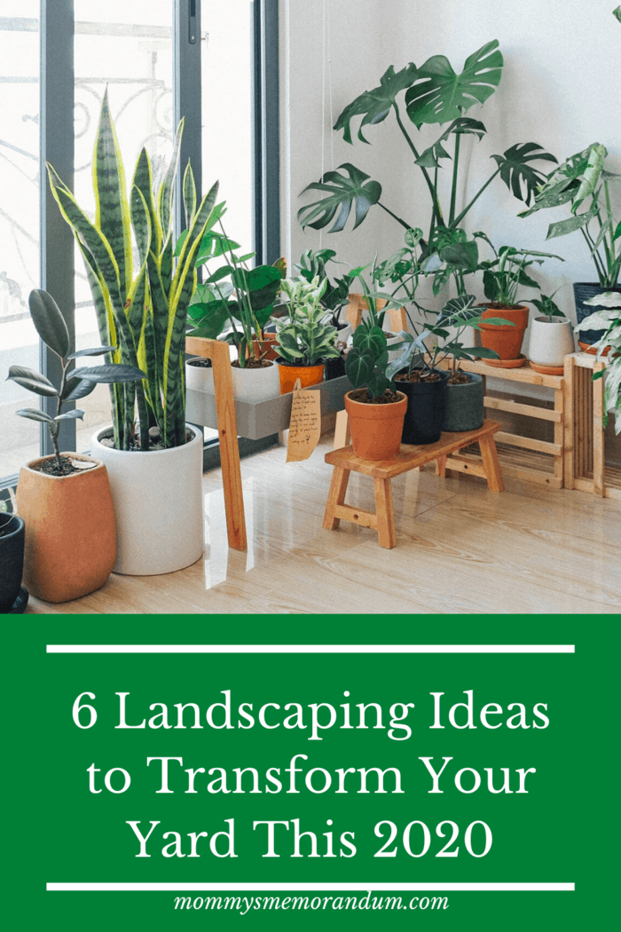 If you're looking for an easier and less dirty way of maintaining the plants in your yard while keeping the natural and colorful vibes maintained, it's better to add pots in your yard.
