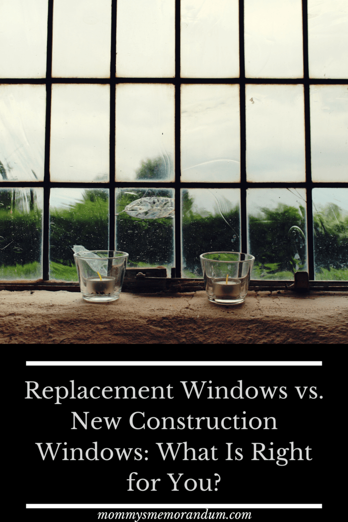 It's true that if your window frames are rotting, or if you are trying to restore a house that is in bad condition, you may require new construction.