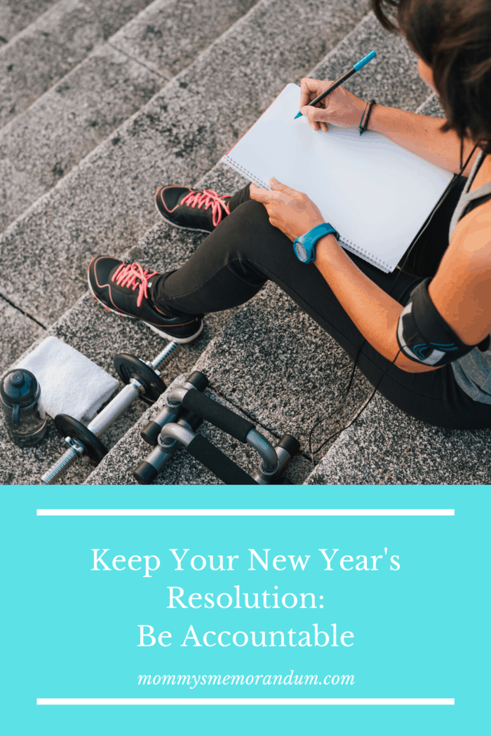 To help you Stick to Your New Year's Resolutions resolutions ask a friend to help you along on your journey and hold you accountable to your goals.