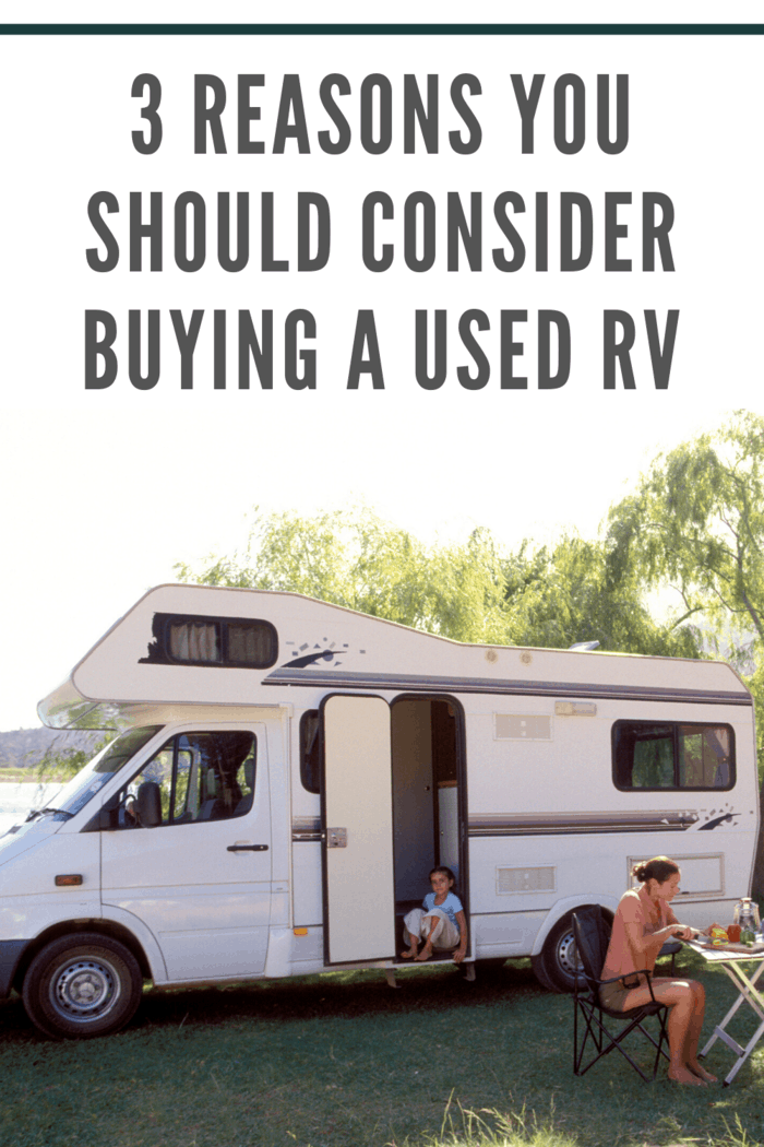 A pre-owned RV, on the other hand, maintains a higher percentage of its value.