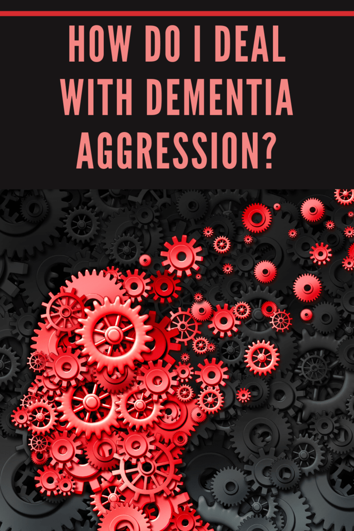 Anger and aggression are common symptoms of mid- to late-stage dementia.