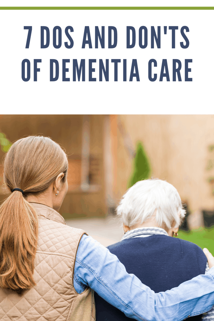 A person with dementia is still a person.