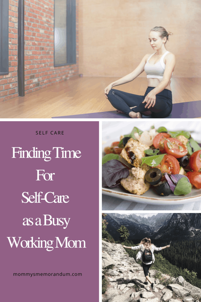 Between work, household tasks, and looking after your children, it probably feels like you get no time at all to yourself.