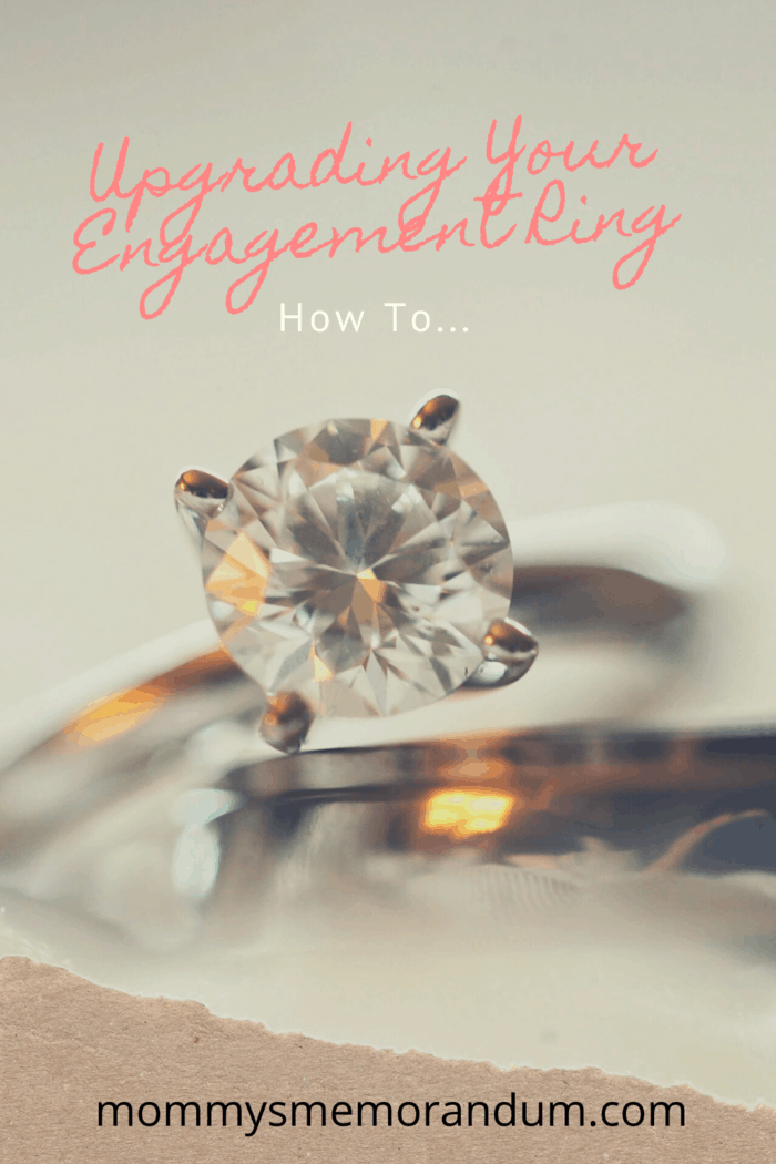 Get a bigger stone if you love the current design of your ring. #engagementring #upgradering