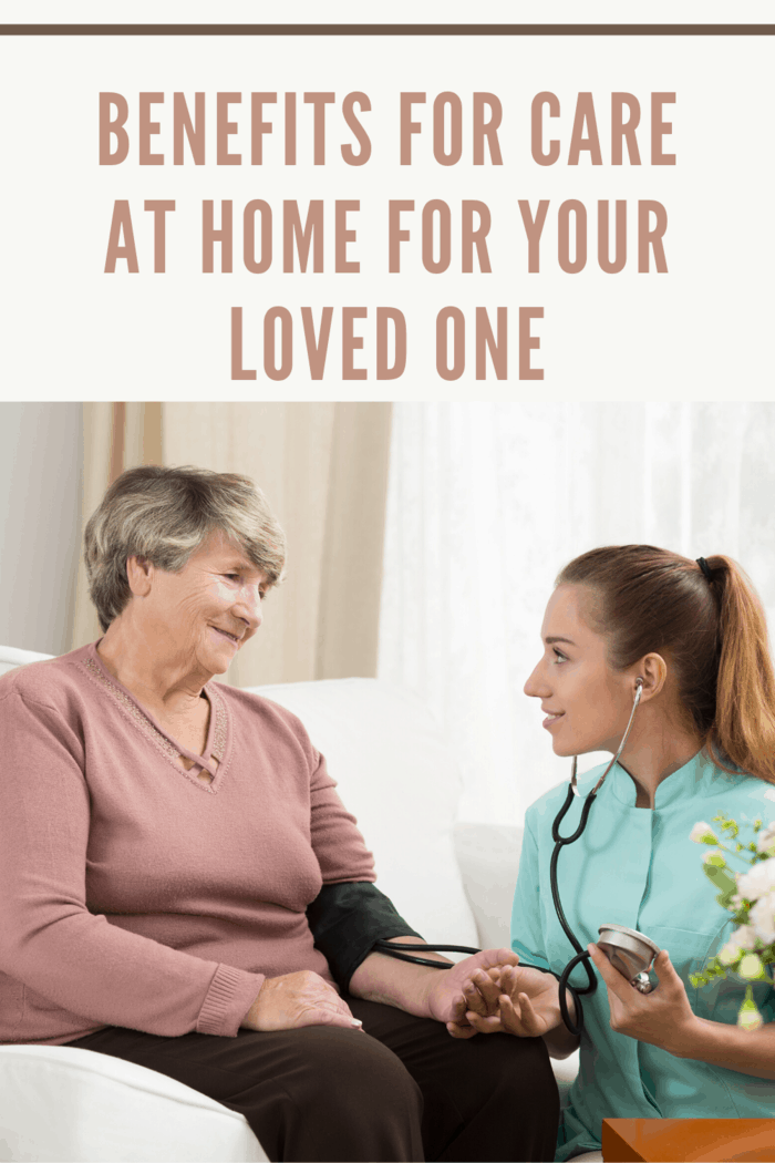 By having nurses and caregivers come into his or her home rather than relocating to a strange place, you can allow your loved one to enjoy the last years in the comfort of home.