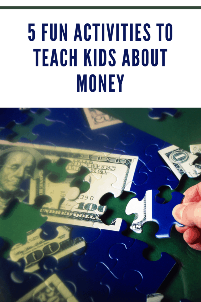 4.  Play Money Puzzles with Your kids