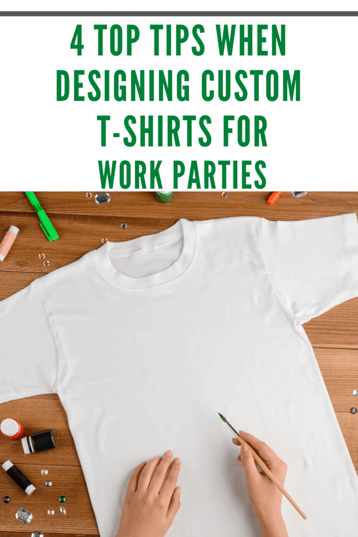 Here are some tips you may follow when designing custom T-shirts for your upcoming company party.