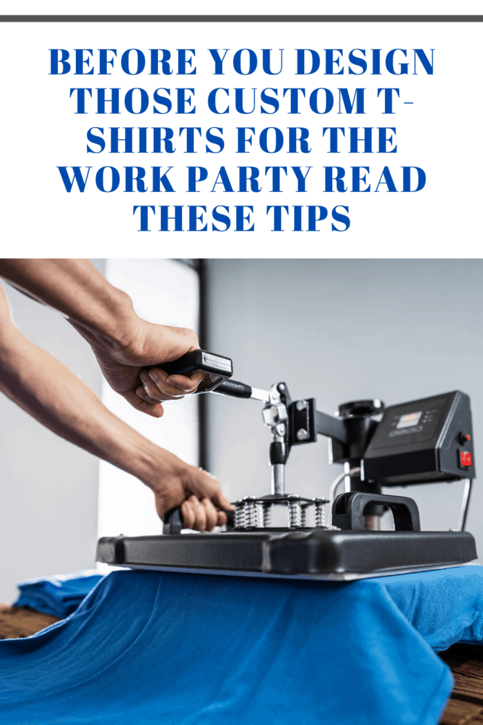 Especially for a work party that celebrates a company accomplishment, a great custom T-shirt printing tip is to come up with a fun shirt design, and you can do so by incorporating bright, happy colors to it.