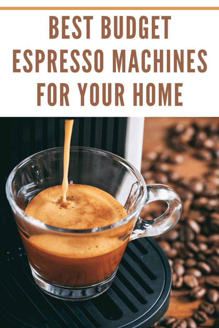These are some of the best budget espresso machines that money can buy, but choosing just one depends a lot on what you need it to do.