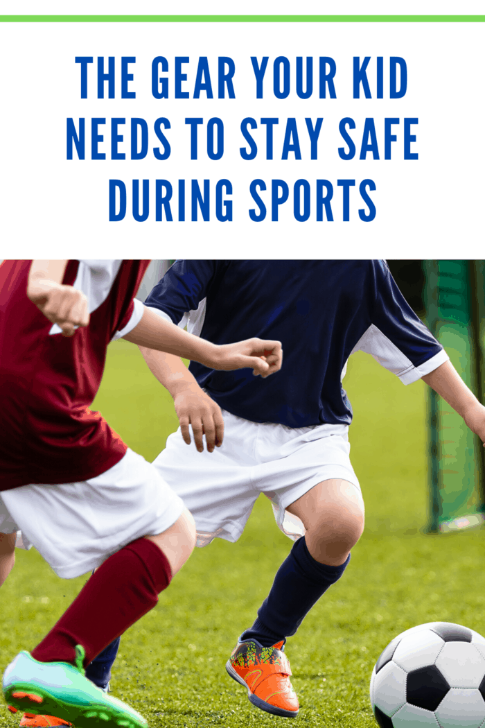 Using the right safety gear, helps your child stay safe during sports.