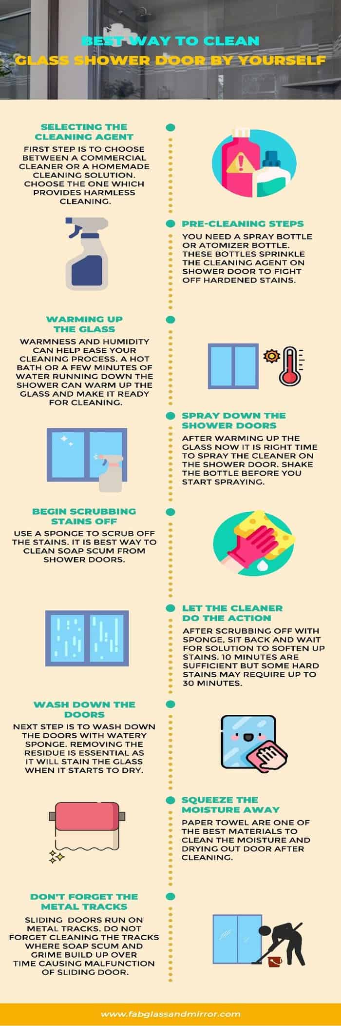 Quick and Safe Hacks to Clean Glass Shower Doors