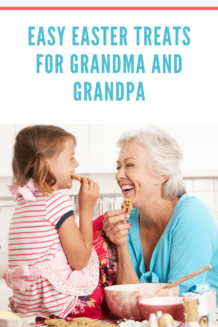 You can work with their PSW to find out what kind of goodies the grandparents might want in a homemade Easter basket.
