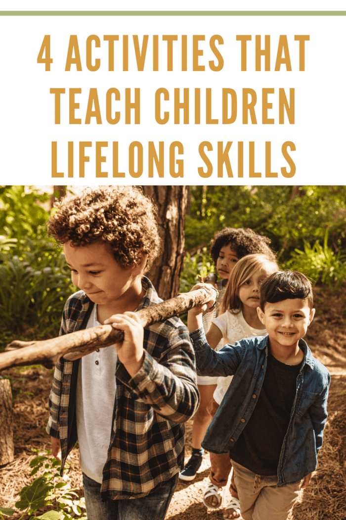 kids in nature is a great way to learn lifeskills