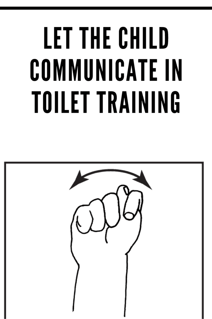 sign language for potty can be helpful in toilet training for children with autism