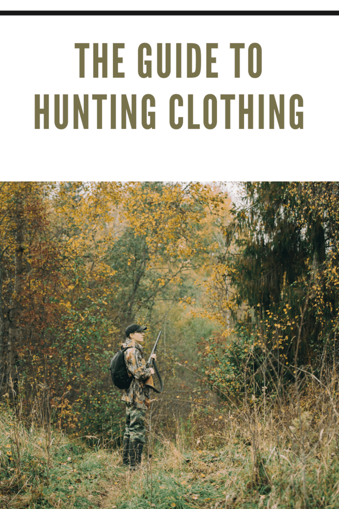 Figuring out what type of hunting apparel is the best can be a bit tricky. Here are 5 things you need to know about hunting clothing before you set out.