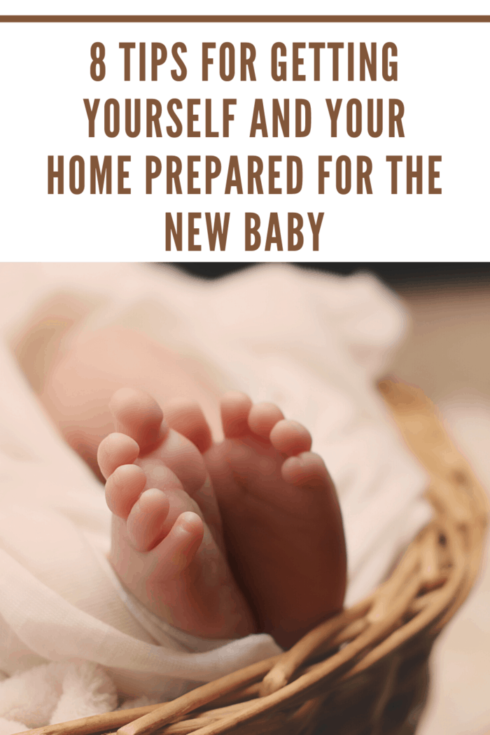 Getting yourself and your home prepared for the new baby