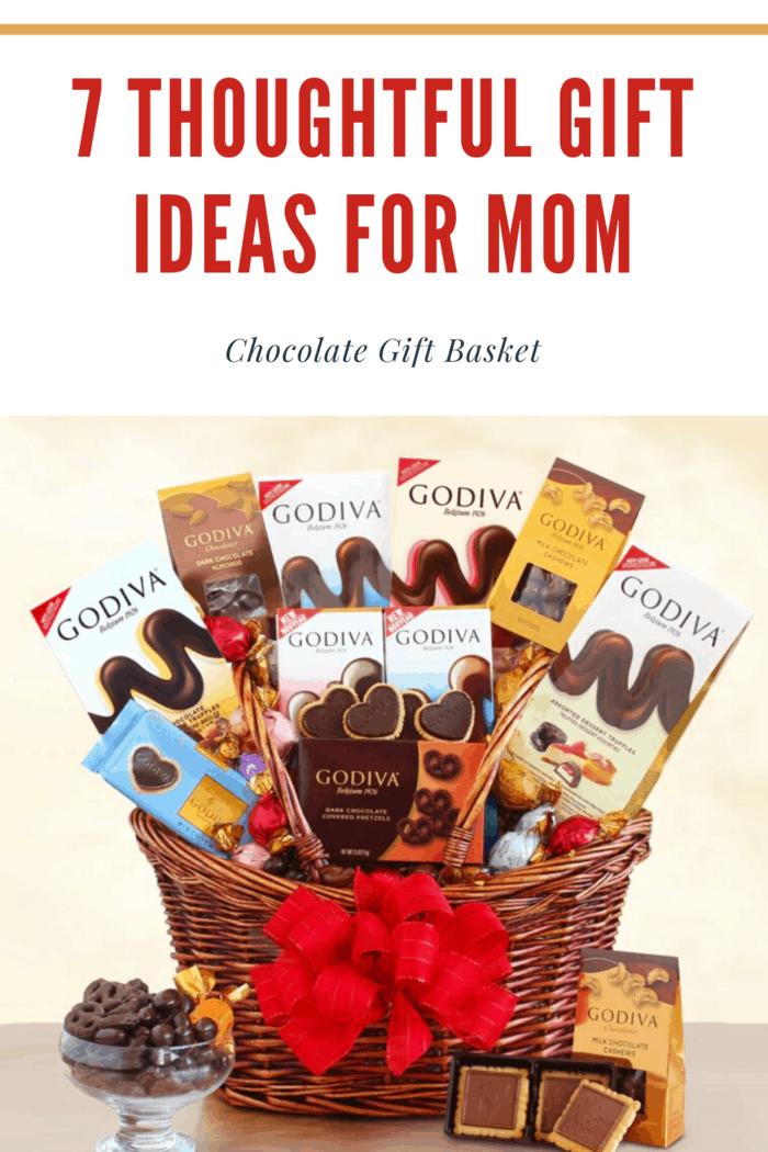 godiva chocolate basket