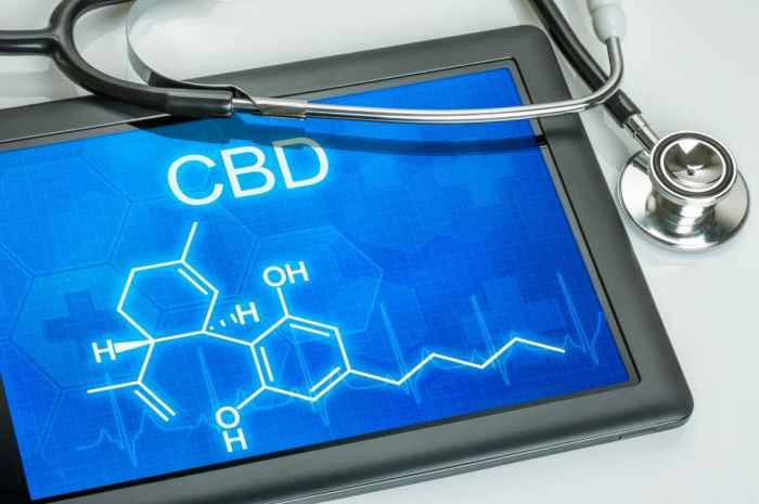 This tablet with CBD scientific makeup on screen with doctor's stethoscope resting on tabletCBD healing guide containseight of the incredible benefits that come along with using CBD oil. Discover why you should give CBD oil a try below.
